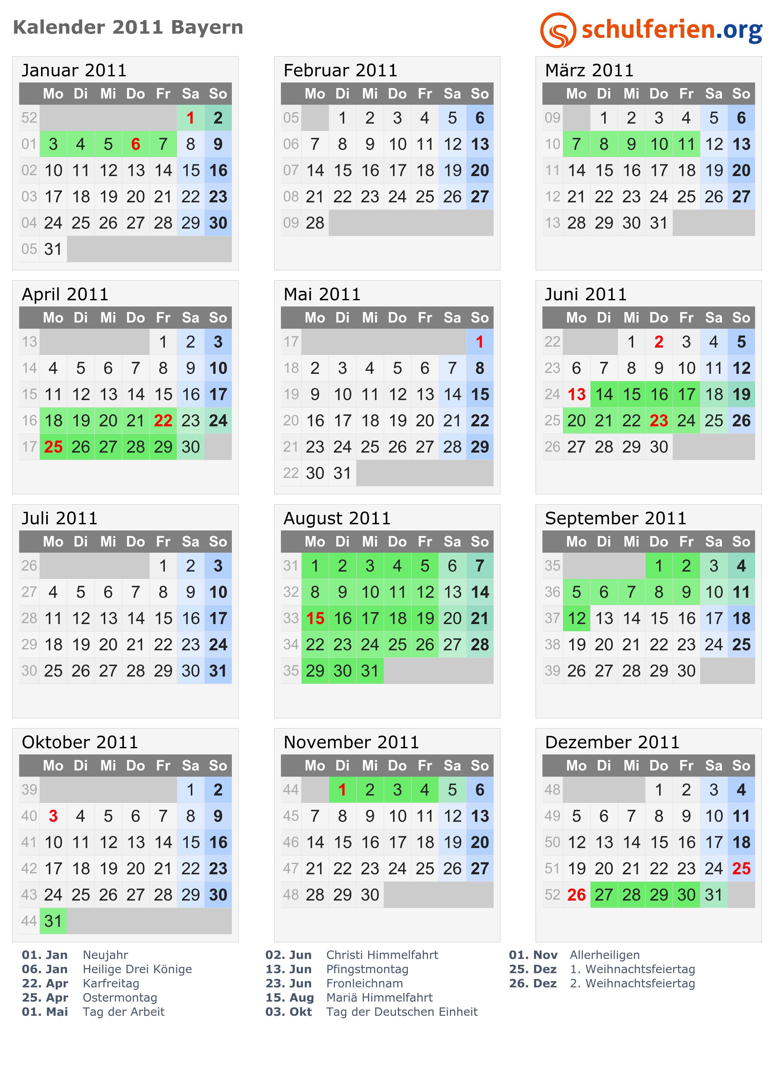 ostern 2011 datum