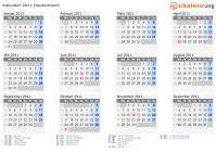Niedersachsen kalender 2011 Kalender 2012