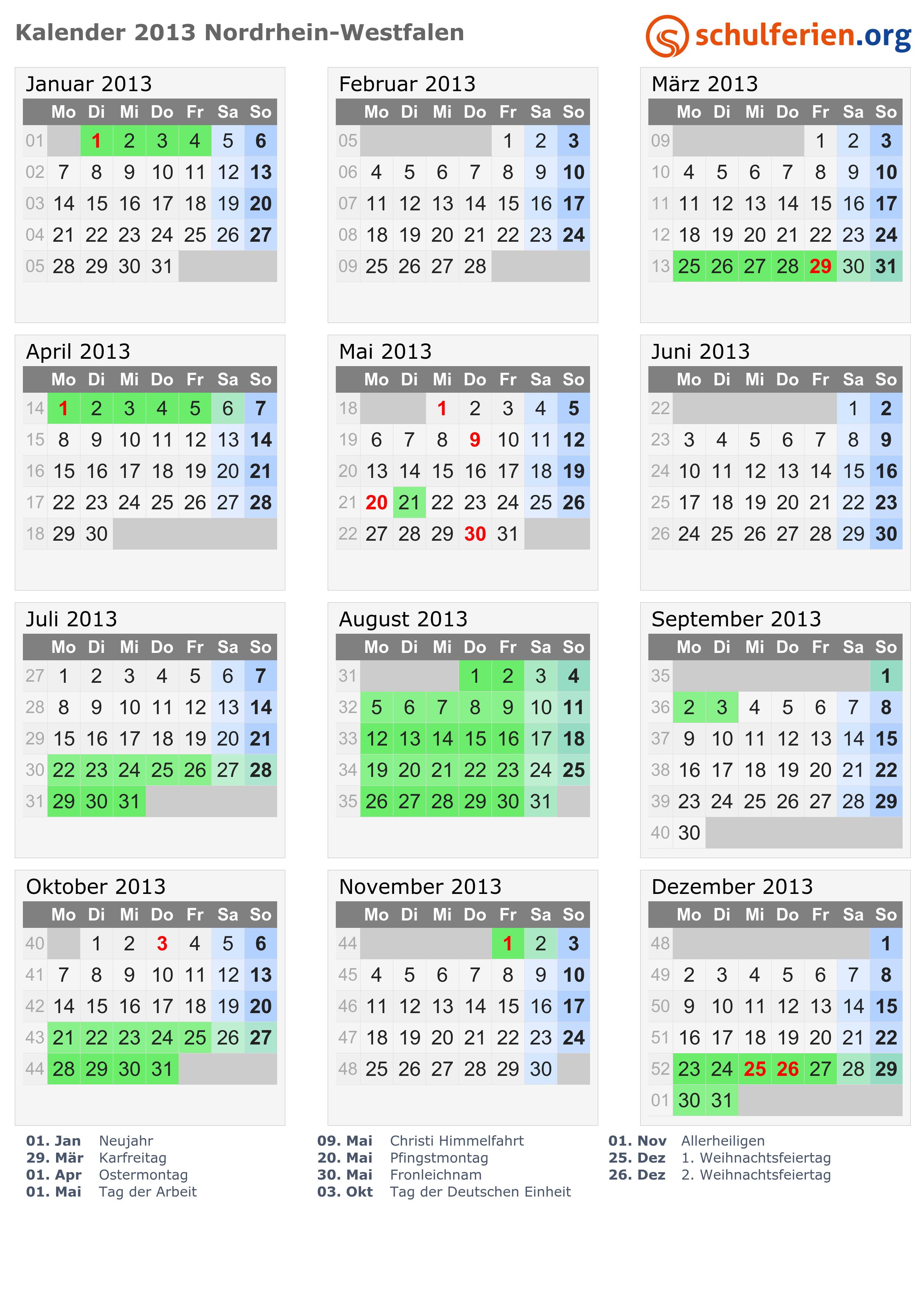 ostern 2013 datum