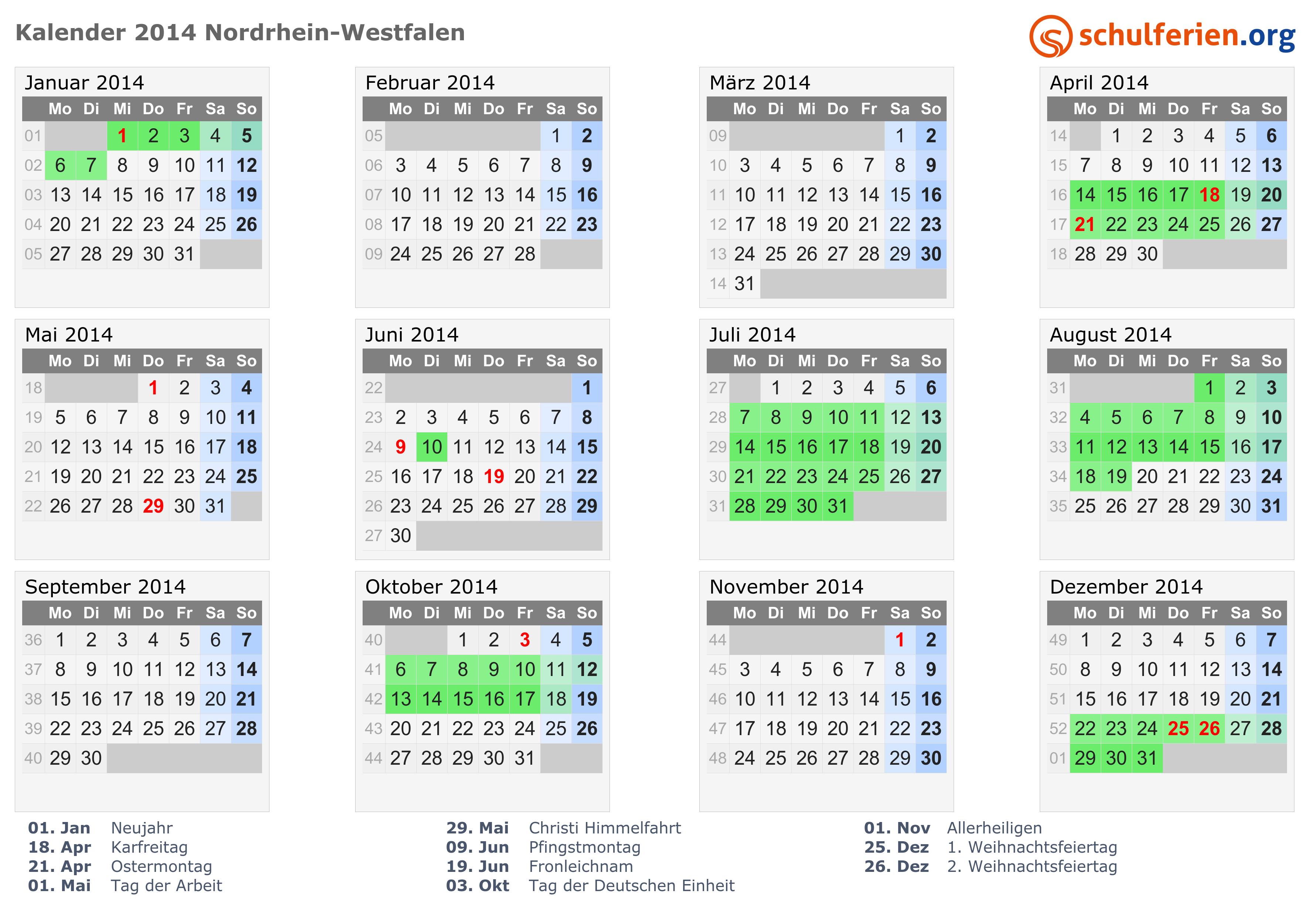 ostern 2014 datum