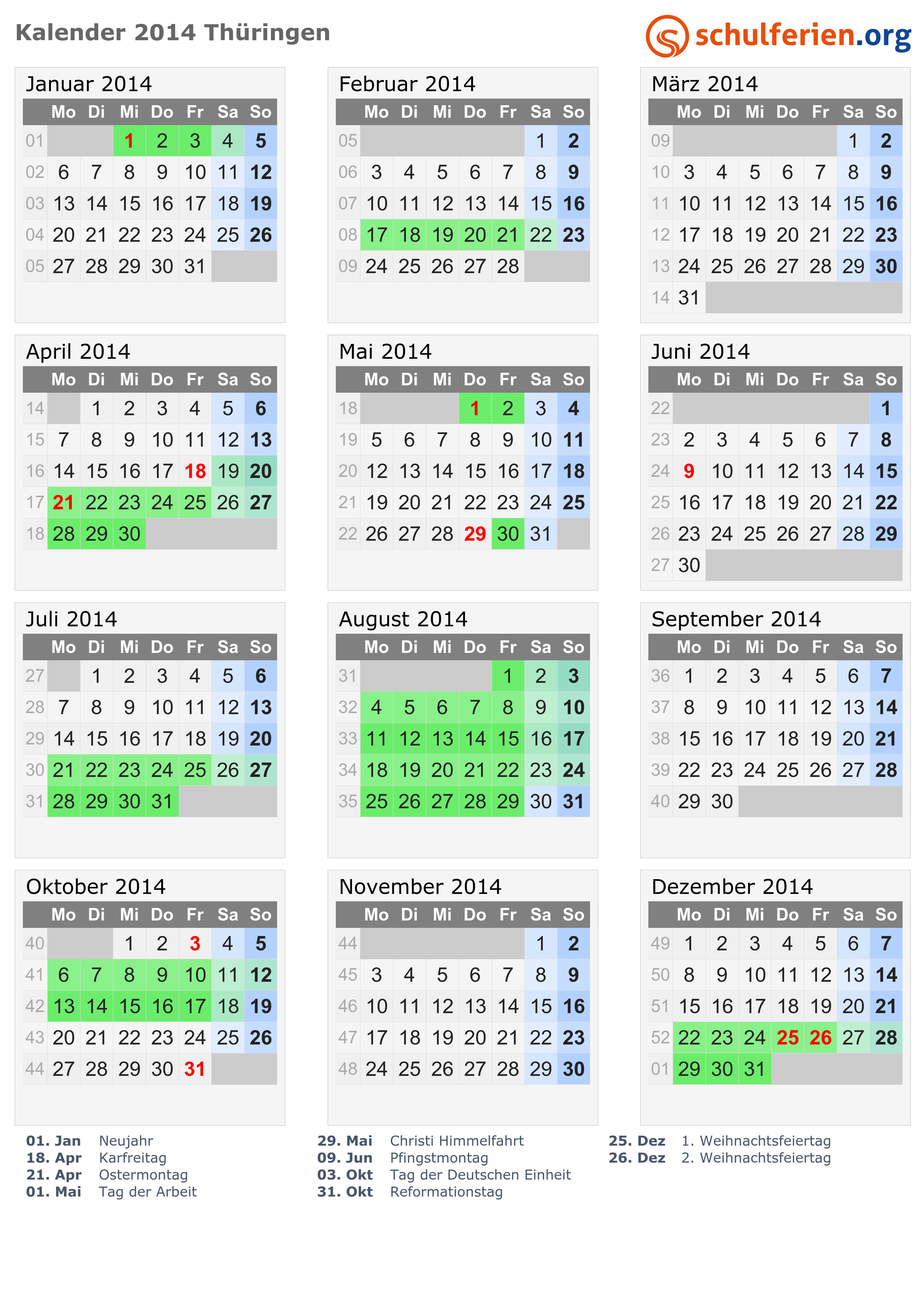 Großartig Monatsvorlage Für 2015 Kalender Zeitgenössisch - Entry ...
