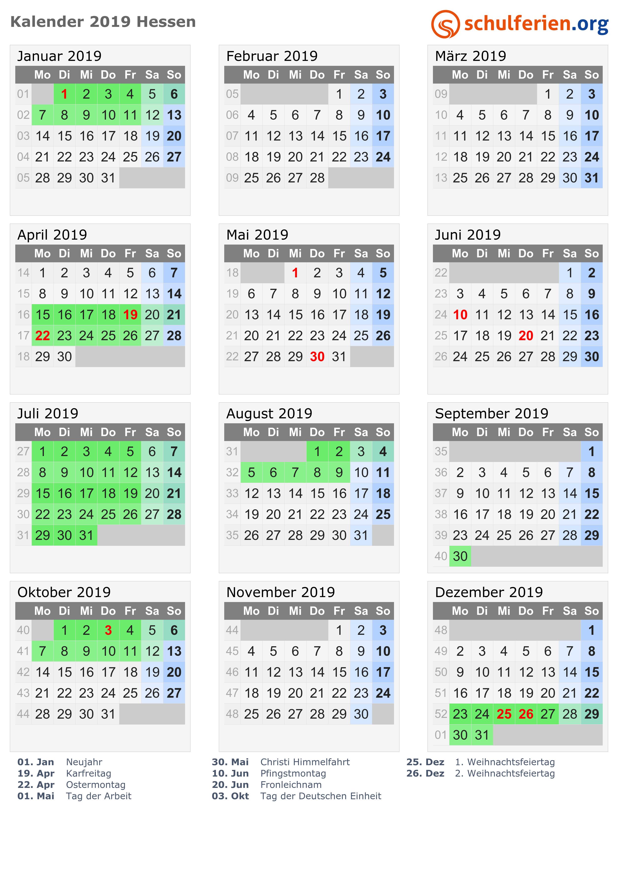 Kalender 2018 Jun