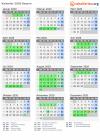 Kalender 2020 bayern ferien